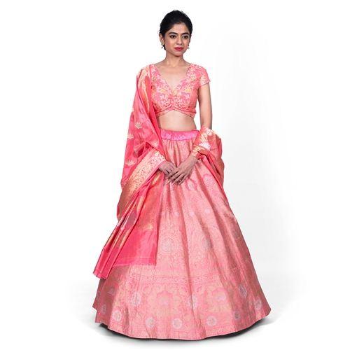 Khinkhwab Lehenga Rouge Pink