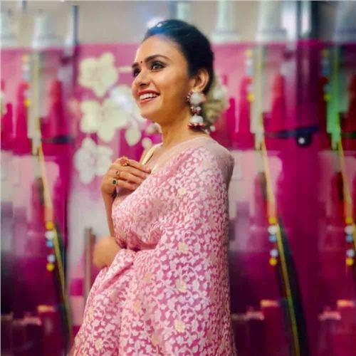 Chana Patti Kora Silk Saree