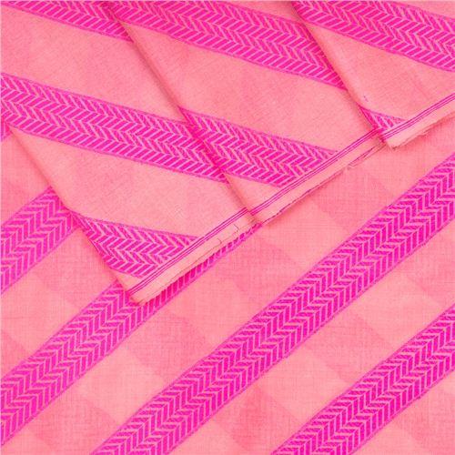 Aada Pink Silk Georgette Fabric