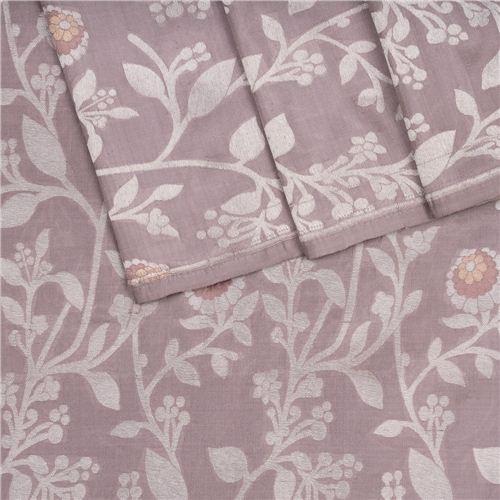 Tilfi Jaal Lilac Silk Fabric