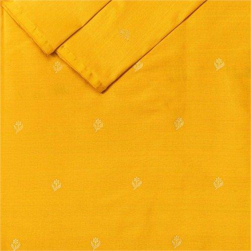 Chunri Buti Mustard Silk Fabric