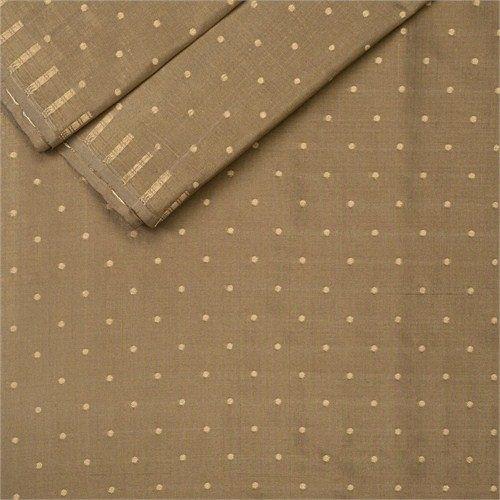 Chunri Buti Ash Silk Fabric