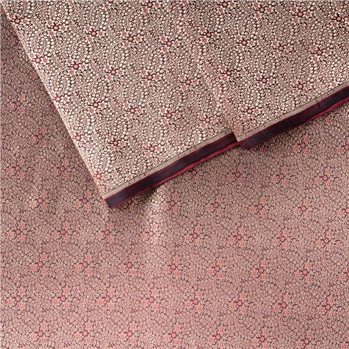Gyasar Brocade Maroon Silk Fabric
