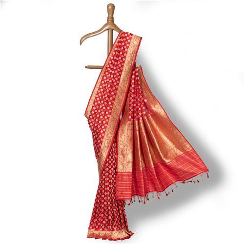 Chandramukhi Banarasi Handwoven Silk Saree