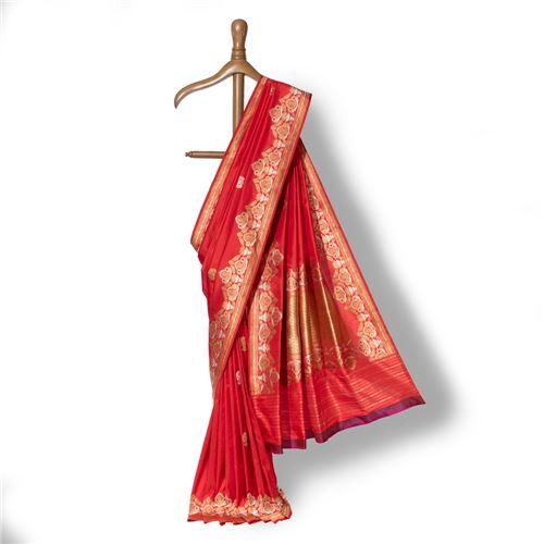Sindhuja Banarasi Handwoven Silk Saree