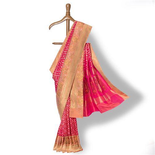 Gul -e- Gulzar Banarasi Handwoven Silk Saree