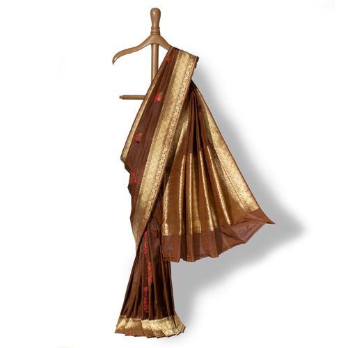 Boteh Banarasi Handwoven Silk Saree