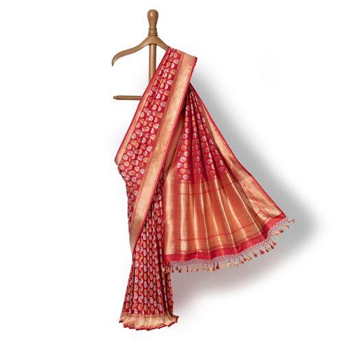 Padmini Banarasi Handwoven Silk Saree