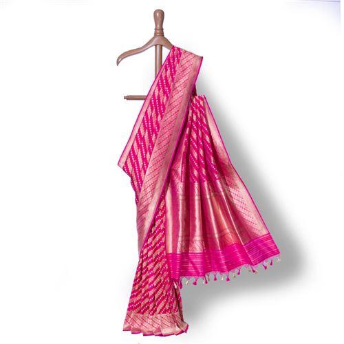 Aada Shahi Banarasi Handwoven Silk Saree