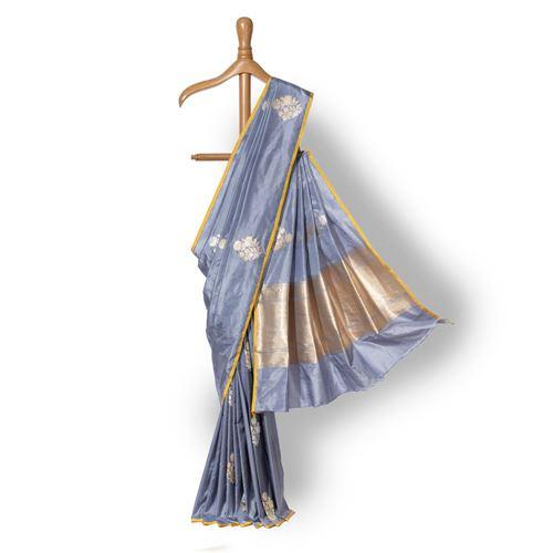 Vrisha Banarasi Handwoven Silk Saree