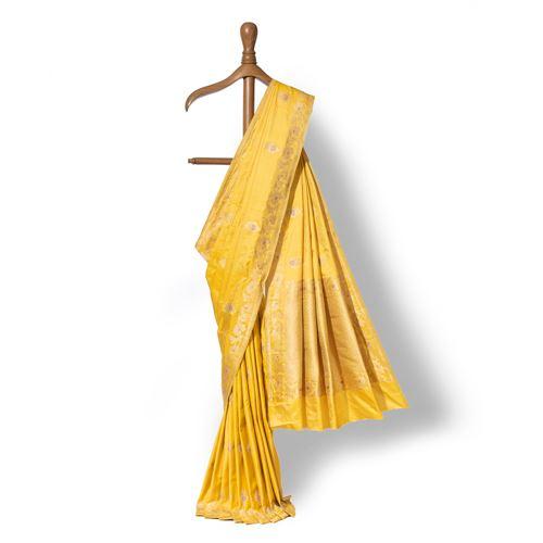 Vrushali Banarasi Handwoven Silk Saree