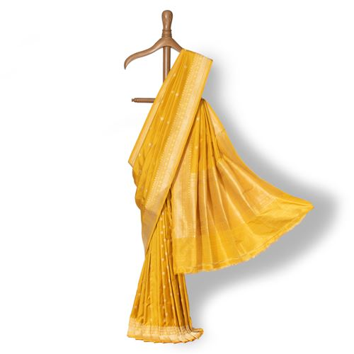 Ashrafi Banarasi Handwoven Silk Saree