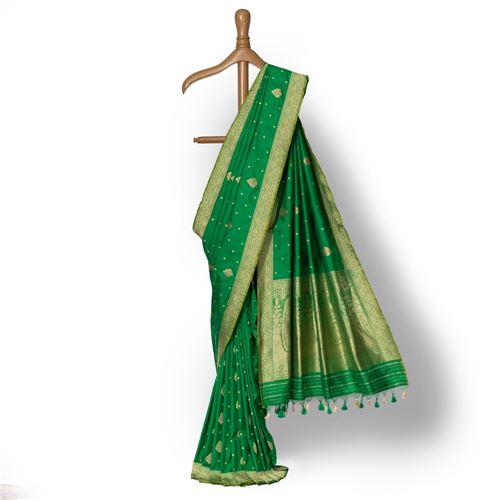 Sanober Banarasi Handwoven Silk Saree