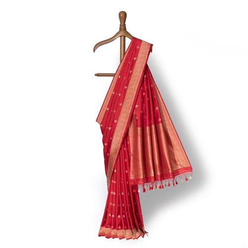 Uttara Banarasi Handwoven Silk Saree