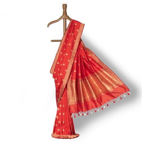 Padmakshi Banarasi Handwoven Silk Saree
