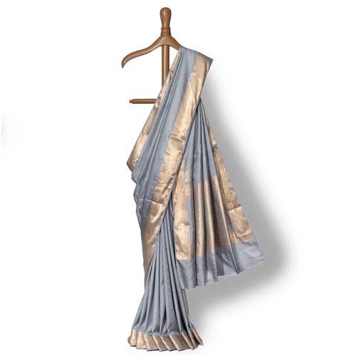 Vachi Banarasi Handwoven Silk Saree