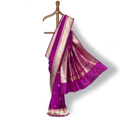 Chaudhani Banarasi Handwoven Silk Saree