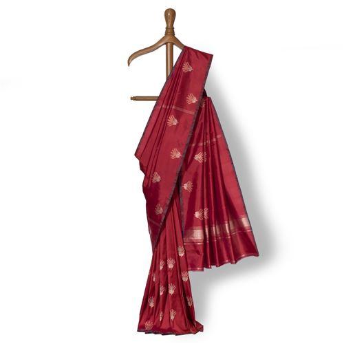 Phycus Blooms Banarasi Handwoven Silk Saree