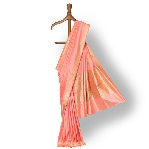 Gajgamini Banarasi Handwoven Silk Saree
