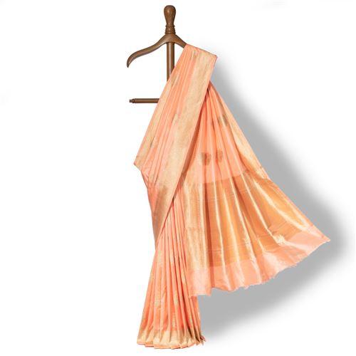Gol-e-Shoma Banarasi Handwoven Silk Saree