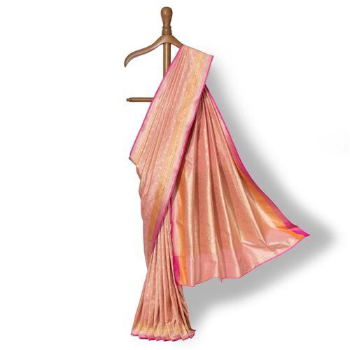 Chunri Banarasi Handwoven Silk Saree