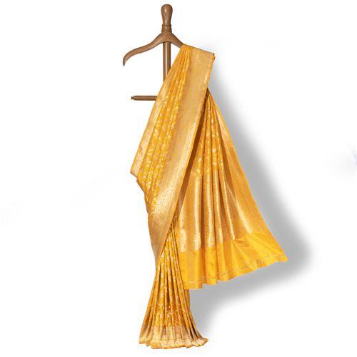 Gajra Moti Banarasi Handwoven Silk Saree