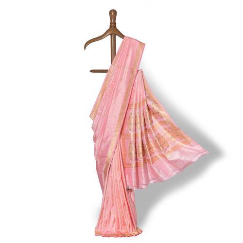 Mogra Banarasi Handwoven Silk Saree