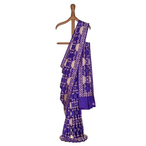 Suryamukhi Khinkhwab Purple Silk Saree