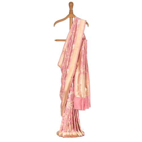 Titliyan Rose Pink Silk Saree