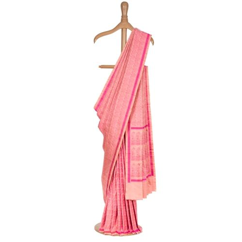Nishat Rouge Tanchoi Silk Saree