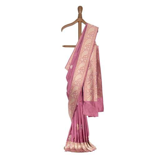 Kairi Lilac Silk Saree