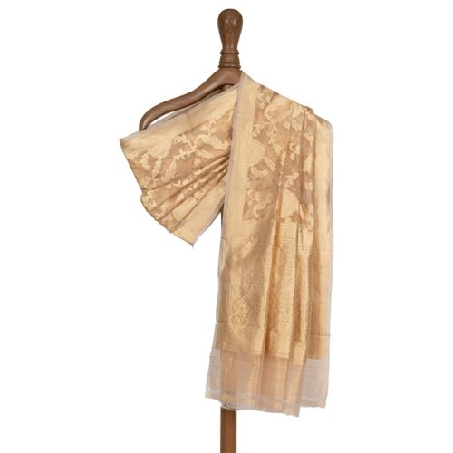 Miya Mithu Jungla Gold Tissue Silk Dupatta