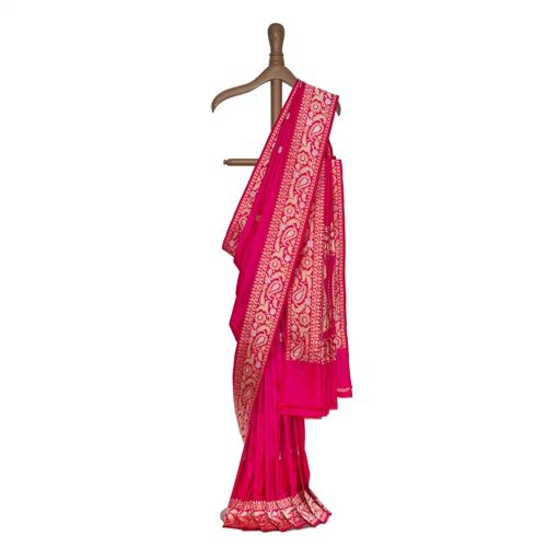 Kairi Hot Pink Silk Saree