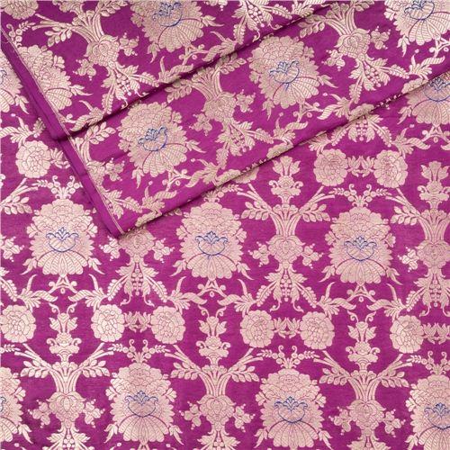 Khinkhwab Jungla Mina Jamuni Silk Fabric