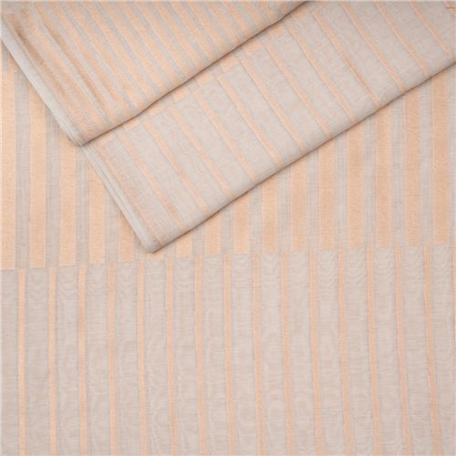 Aada Ivory White Cotton Banarasi Fabric