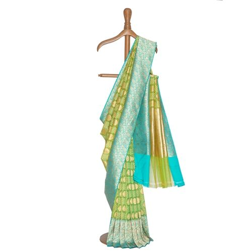 Mahrukh Kora Silk Saree