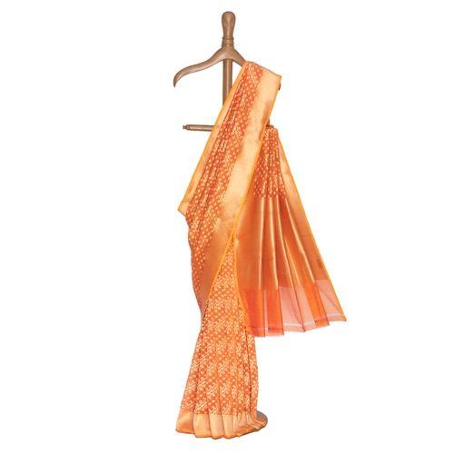 Narangi Cotton Saree