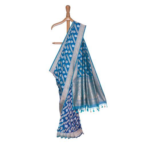 Ada Shahi Banarasi Handwoven Silk Saree