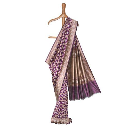 Matsyaka Banarasi Handwoven Silk Saree