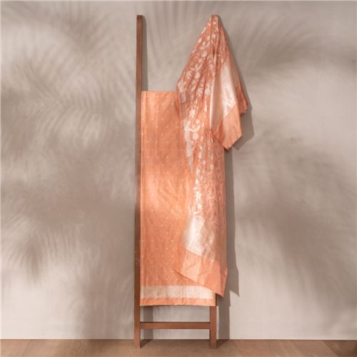 Renna Banarasi Handwoven Silk Suit Set