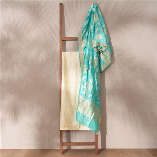 Adaara Banarasi Handwoven Silk Suit Set