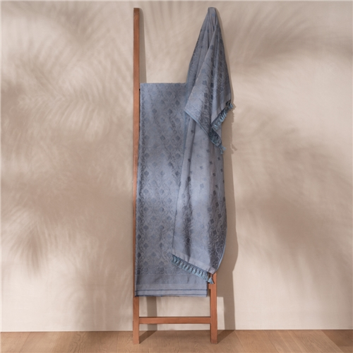 Kumud Grey Banarasi Handwoven Cotton Suit Set