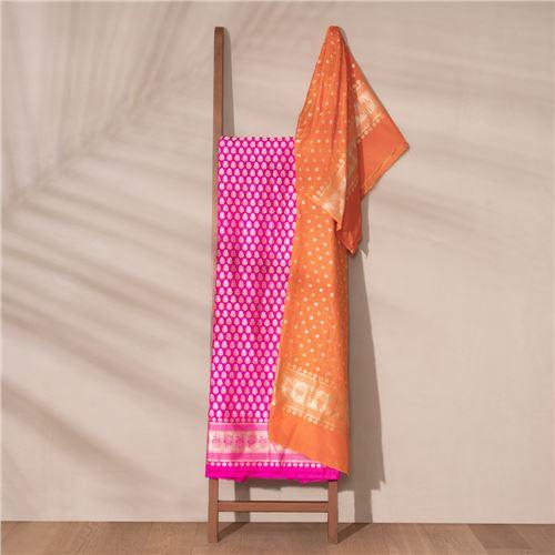 Mohini Banarasi Handwoven Silk Suit Set