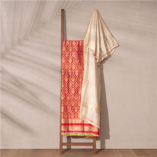 Chinar Banarasi Handwoven Silk Suit Set