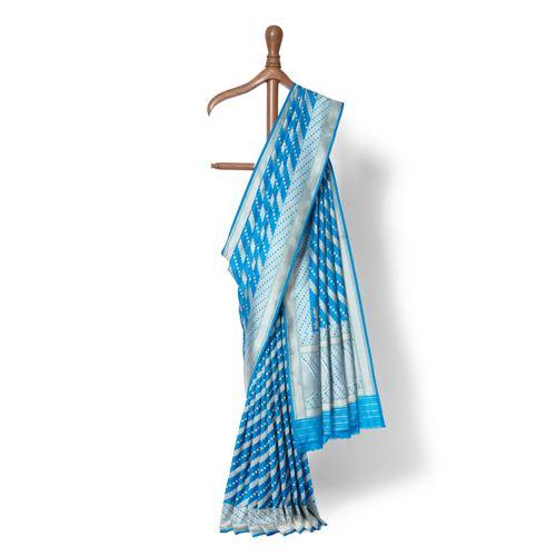 Aada Shahi Real Zari Banarasi Handwoven Silk Saree