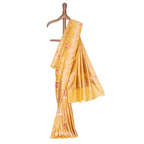 Kanaklata Silk Tissue Banarasi Handwoven Saree