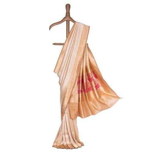 Kaira Silk Tissue Banarasi Handwoven Saree