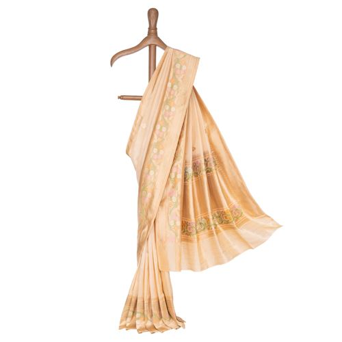 Rukmini Silk Tissue Banarasi Handwoven Saree