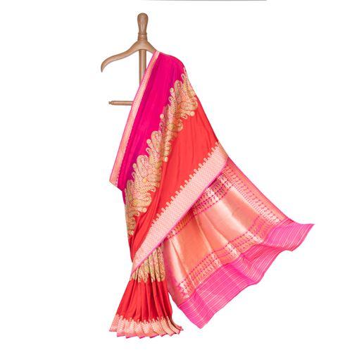 Chanda Banarasi Handwoven Silk Saree