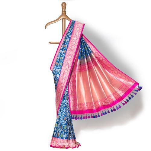 Vallabhi Banarasi Handwoven Silk Saree